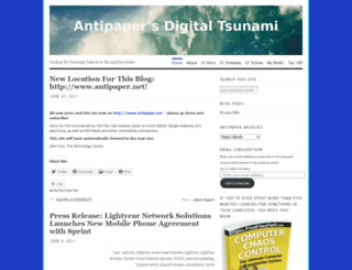 antipaper.wordpress.com screenshot