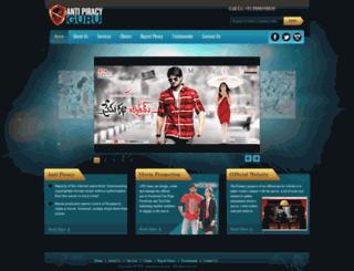 antipiracyguru.com screenshot
