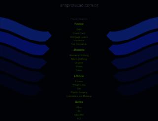 antiprotecao.com.br screenshot