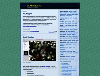 antiquark.com screenshot