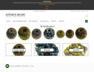 antique-beads-indonesia.com screenshot