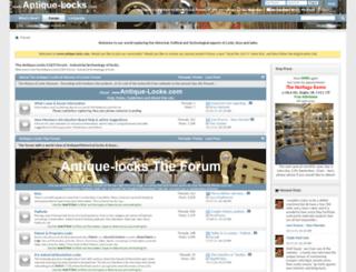 antique-locks.com screenshot