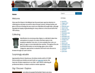 antiquebottles-glass.com screenshot