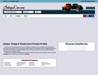antiquecar.com screenshot