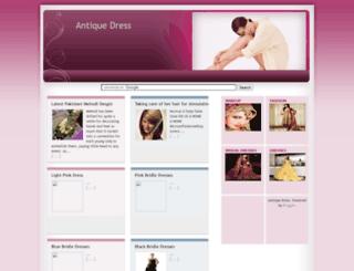 antiquedress.blogspot.com screenshot