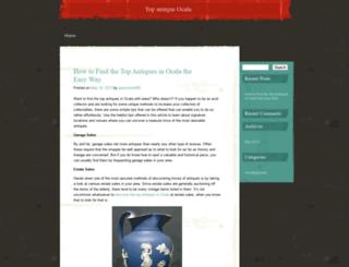 antiqueocala.wordpress.com screenshot