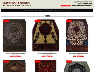 antiquepersianorientalrugs.com screenshot
