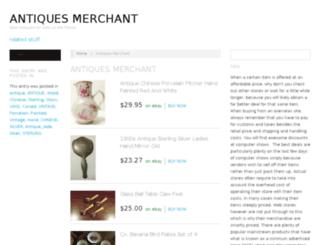 antiques-merchant.com screenshot