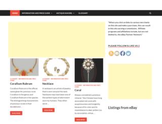 antiques-price-guide.com screenshot