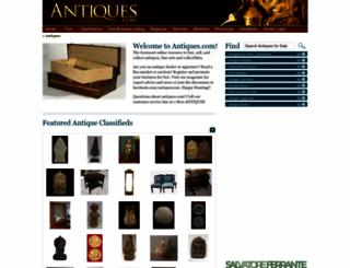 antiques.com screenshot