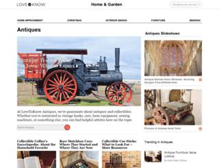 antiques.lovetoknow.com screenshot