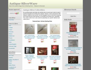 antiquesilver.looknooks.com screenshot