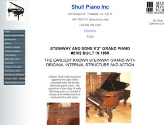 antiquesteinwaypiano.com screenshot