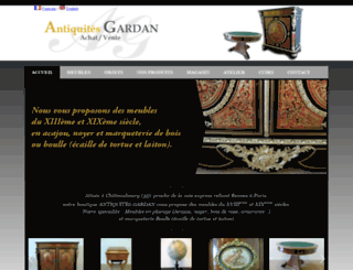 antiquites-gardan.fr screenshot