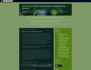 antir10net.blogspot.com screenshot