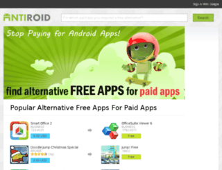 antiroid.com screenshot