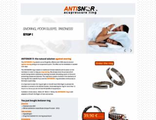 antisnor.fr screenshot