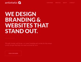 antistaticdesign.com screenshot