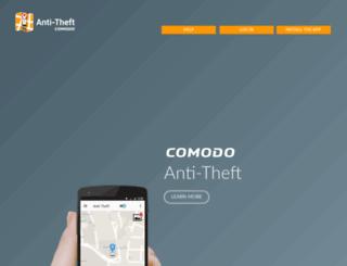 antitheft.comodo.com screenshot