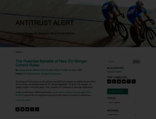 antitrustalert.com screenshot
