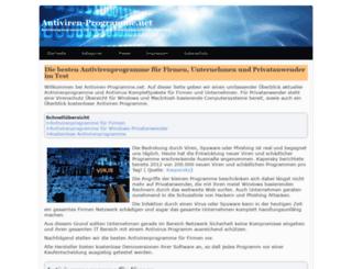 antiviren-programme.net screenshot