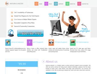 antivirus-master.com screenshot
