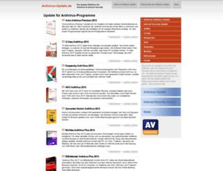 antivirus-update.de screenshot