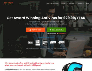 antivirus.comodo.com screenshot