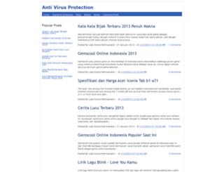 antivirus23.blogspot.com screenshot