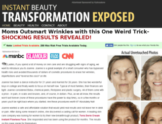 antiwrinkleadovcate.com screenshot