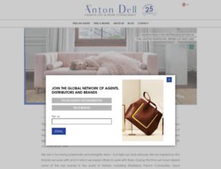 antondell.com screenshot