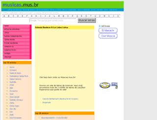 antonio-banderas-los-lobos.musicas.mus.br screenshot