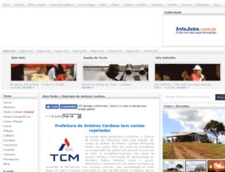 antoniocardosobahia.com.br screenshot