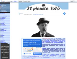 antoniodecurtis.org screenshot