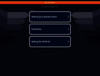 antoniolobato.net screenshot