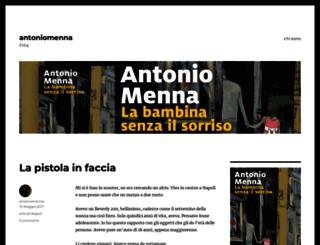 antoniomenna.wordpress.com screenshot