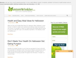 antonwinkler.com screenshot