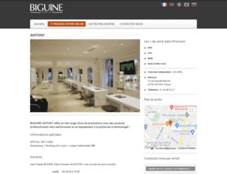 antony.franchise-biguine.com screenshot