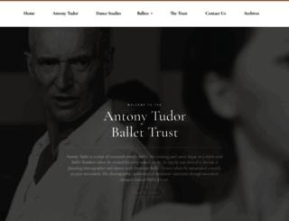 antonytudor.org screenshot