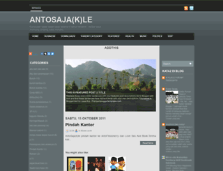 antosajak.blogspot.com screenshot