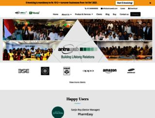 antraweb.com screenshot
