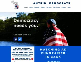 antrimdems.org screenshot