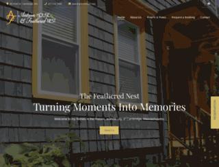 antrimhouse.com screenshot