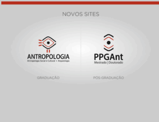 antropologiaufpel.com.br screenshot