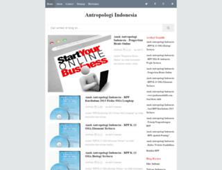 antropologiindonesia.blogspot.com screenshot