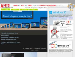 ants.com.sg screenshot