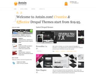 antsin.com screenshot