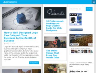 antsmagazine.com screenshot