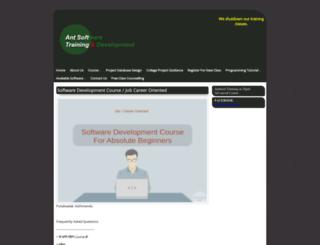 antsoftware.com.np screenshot