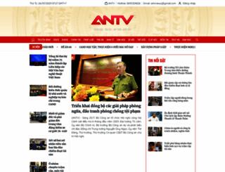 antv.gov.vn screenshot